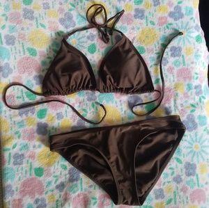 Other - Cute Simple Brown Bikini
